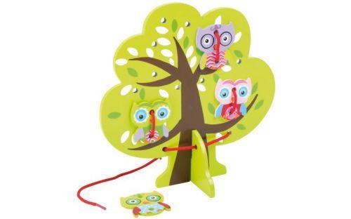Legler Provlékací hra Strom a sovy cena od 152 Kč