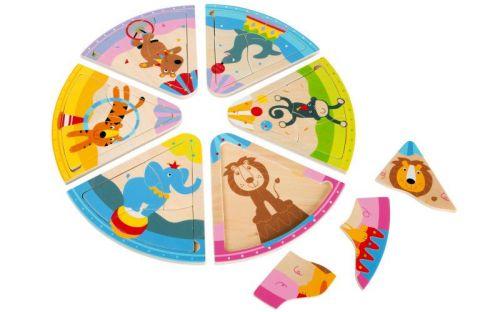 Legler Cirkusová zvířata puzzle cena od 265 Kč