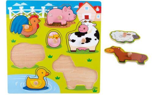 Legler Puzzle Roztomilá zvířátka cena od 146 Kč