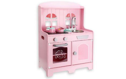 Andreu Toys Růžová kuchyňka se zvuky