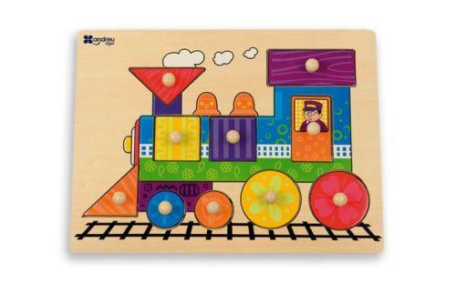 Andreu Toys Puzzle Vlak