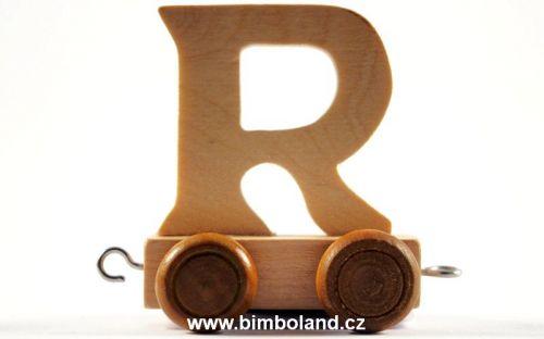 Bino Dřevěný vagónek R cena od 27 Kč