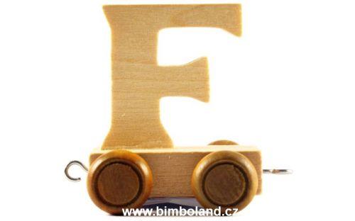 Bino Dřevěný vagónek F
