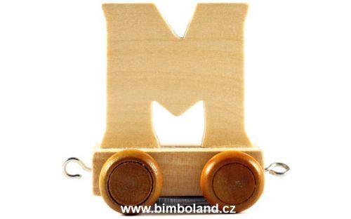 Bino Dřevěný vagónek M cena od 35 Kč