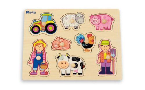 Andreu Toys Puzzle Farma