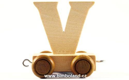 Bino Dřevěný vagónek V cena od 41 Kč