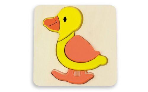 Andreu Toys Puzzle pro nejmenší kachnička