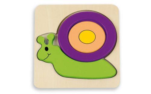 Andreu Toys Puzzle pro nejmenší šnek
