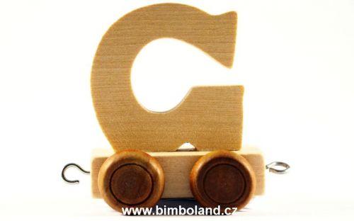 Bino Dřevěný vagónek G