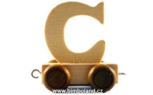Bino Dřevěný vagónek C