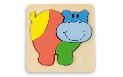 Andreu Toys Puzzle pro nejmenší hroch