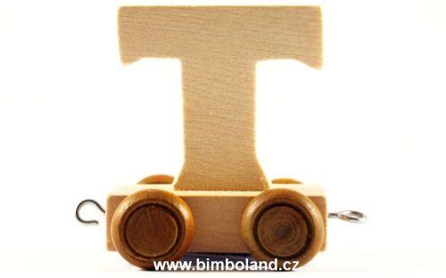 Bino Dřevěný vagónek T cena od 26 Kč