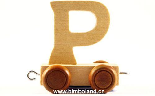 Bino Dřevěný vagónek P cena od 26 Kč