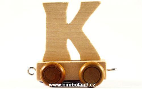Bino Dřevěný vagónek K cena od 27 Kč