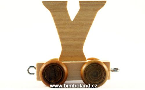 Bino Dřevěný vagónek X