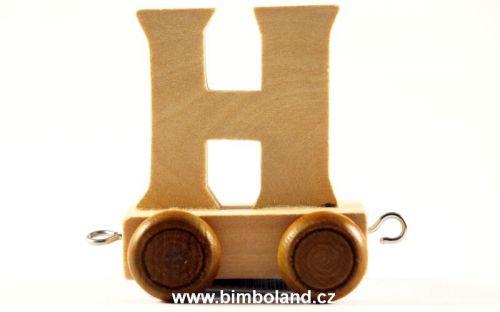 Bino Dřevěný vagónek H cena od 27 Kč