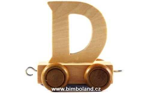 Bino Dřevěný vagónek D cena od 27 Kč