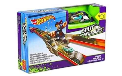 Mattel Hot Wheels Split speeders dráha s ninjou cena od 382 Kč