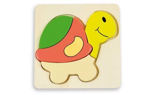 Andreu Toys Puzzle pro nejmenší želva