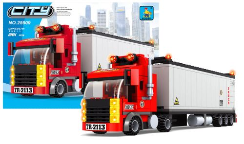 RAPPA stavebnice AUSINI město kamión 281 dílů