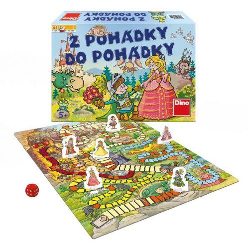 DINO Toys hra Z pohádky do pohádky
