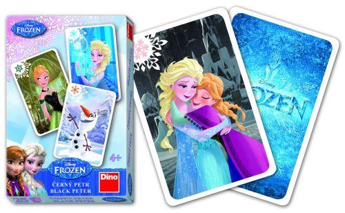 DINO Toys karty Černý Petr FROZEN Ledové království