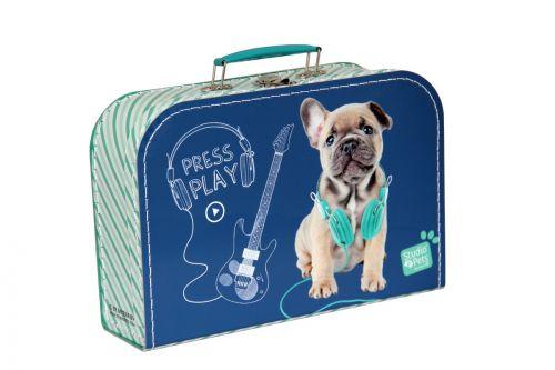 Kazeto kufr pejsek střední