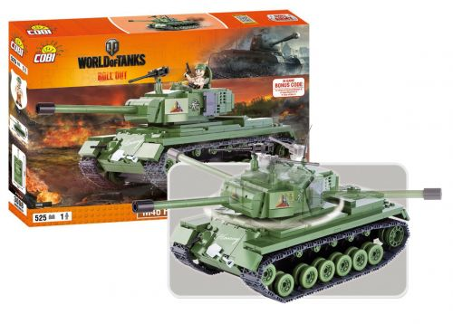 COBI stavebnice WORLD OF TANKS Patton 500 k