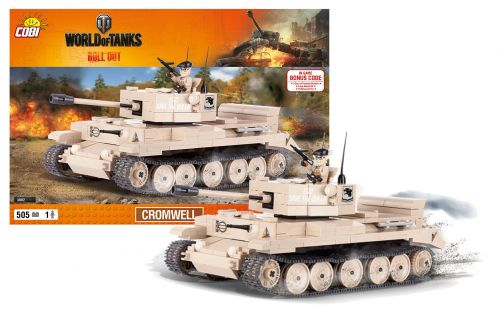 COBI stavebnice World of Tanks Cromwell 505 k