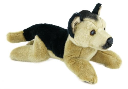 RAPPA plyšový pes Vlčák 30 cm cena od 237 Kč