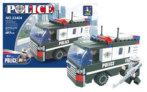 RAPPA stavebnice AUSINI policejní auto 127 dílů