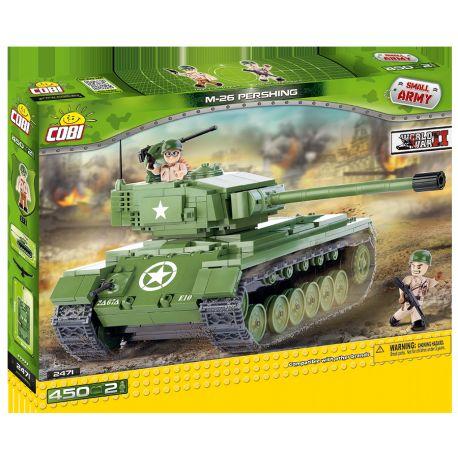 COBI stavebnice tank II WW M26 Pershing 450 k