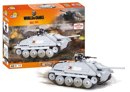COBI stavebnice World of Tanks Hetzer 410 k