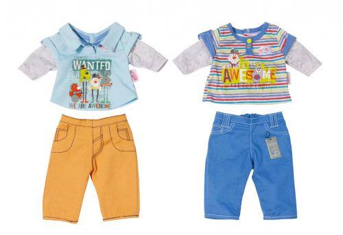 Zapf BABY born oblečení pro chlapečka, 2 druhy