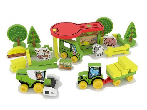 MPK Toys stavebnice Millaminis Velká farma