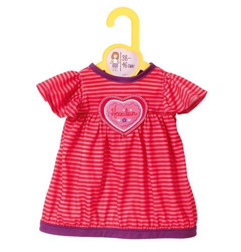 Zapf Dolly Moda oblečení šaty se srdíčkem