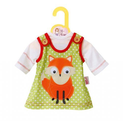 Zapf Dolly Moda oblečení šaty s liškou