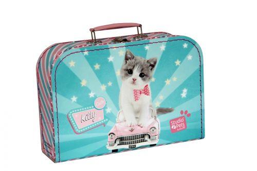 Kazeto kufr kočička, střední cena od 218 Kč