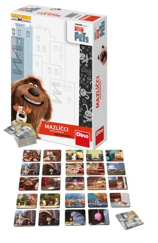 DINO Toys hra Tajný život mazlíčků cena od 134 Kč
