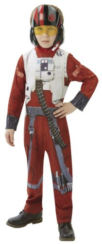 ADC Blackfire karnevalový kostým STAR WARS Epizoda 7 X-Wing Fighter Pilot