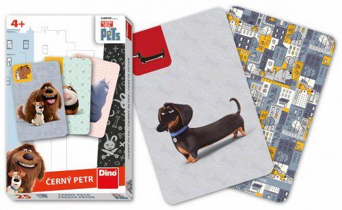 DINO Toys karty Černý Petr Tajný život mazlíčků