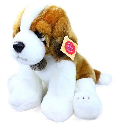 RAPPA plyšový pes bernardýn sedící 30 cm cena od 0 Kč