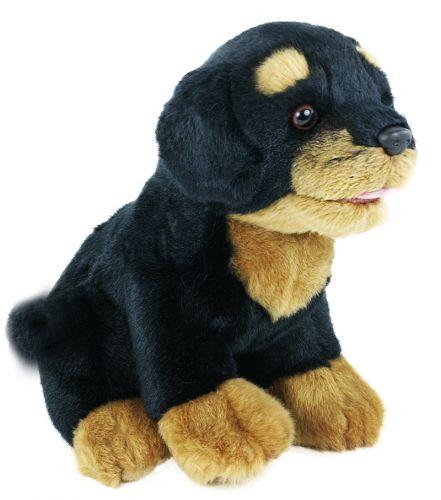 RAPPA plyšový pes Rotvajler 22 cm