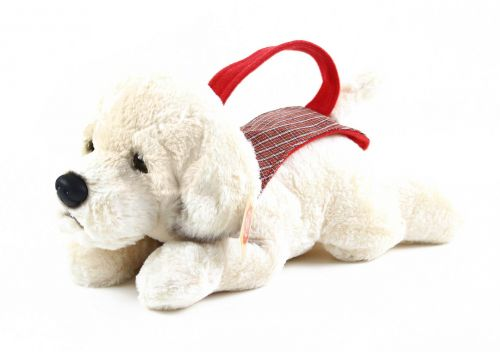 RAPPA plyšový pes labrador s nosítkem 30 cm cena od 0 Kč