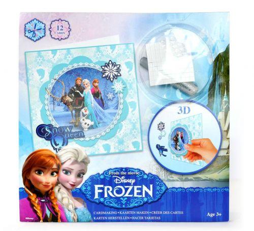 Canenco přání kreativní 3D FROZEN Ledové království