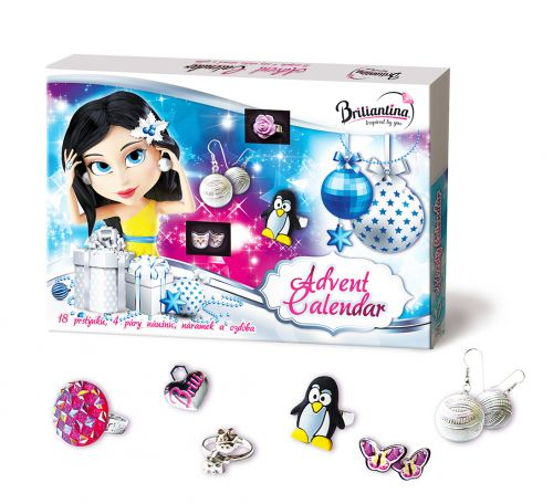 Bonaparte kalendář adventní Briliantina 2016
