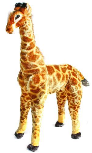 RAPPA plyšová žirafa 91 cm stojící