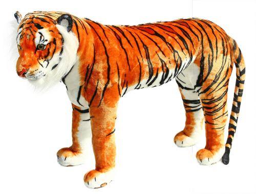 RAPPA plyšový tygr stojící 106 cm