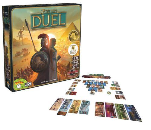 ADC Blackfire hra 7 divů světa DUEL
