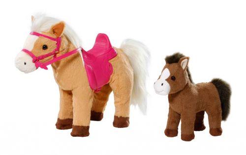 Zapf Kůň interaktivní s hříbátkem BABY born